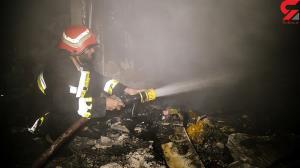 زنده زنده سوختن سمیه و کودک ۲ سالهاش در آتش