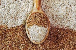 تفاوت برنج قهوه ای و سفید