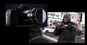 با فیلتر آینهای با خیال راحت خود را در لنز دوربین ببینید
