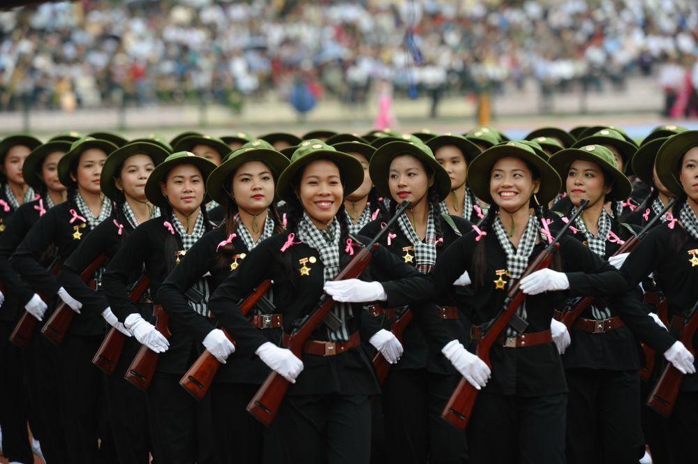 تصاویری از ارتش های زنان در جهان