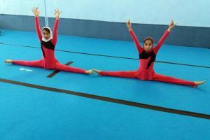 بانوان مهابادی در مسابقات ژیم فورال کشوری خوش درخشیدند