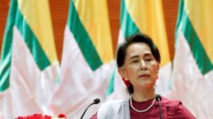 رهبر محبوس میانمار واکسن کرونا زد