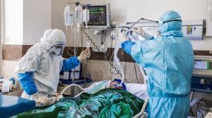 ظرفیت پذیرش بیماران کرونایی بیمارستان رازی اهواز تکمیل شد