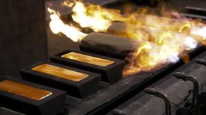 کاهش ملایم قیمت طلا در بازار جهانی