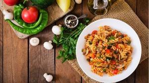 آموزش اصولی پاستای سبزیجات