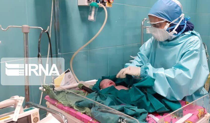 نوزاد مادر دهلرانی مبتلا به کرونای جهش یافته سالم متولد شد
