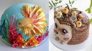 از این تزئین ها برای داشتن کیکی زیبا ایده بگیرید