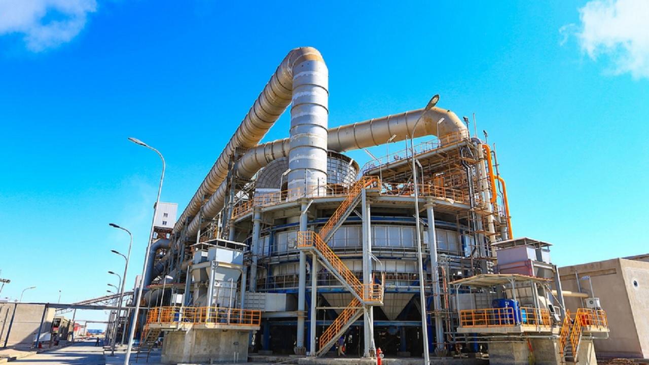 افتتاح فاز نخست کارخانه گندلهسازی مادکوش بندرعباس