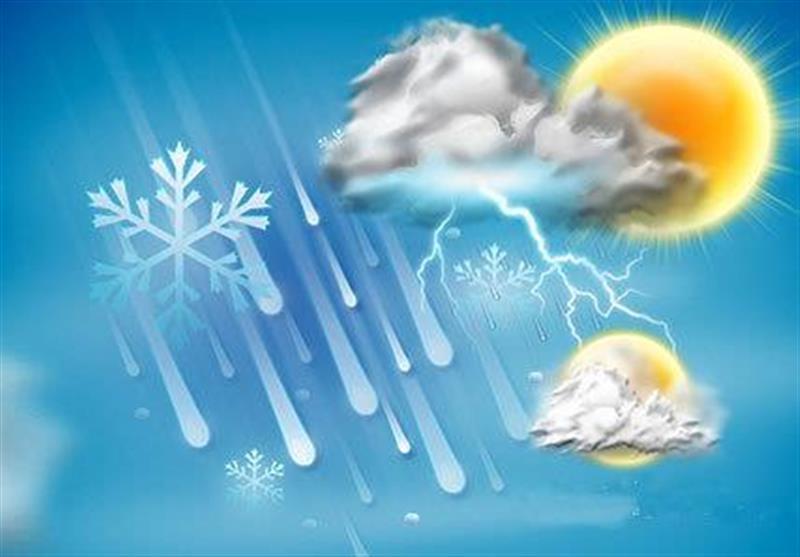 بارش پراکنده برف تا اواسط هفته در خراسان شمالی ادامه دارد