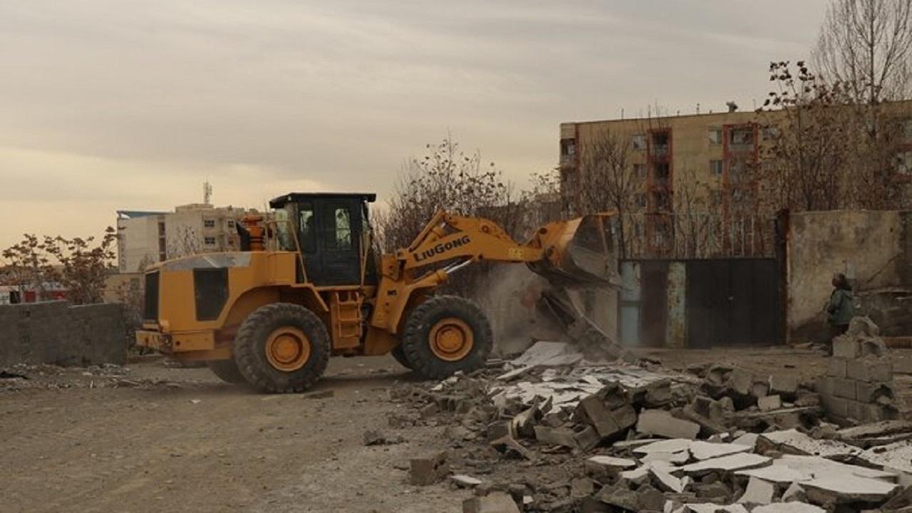 آزادسازی اراضی تصرف شده در باغستان غربی