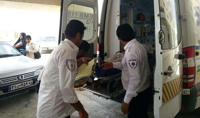 تصادف در مسیر ایرانشهر- سرباز ۱۰ مصدوم بر جا گذاشت
