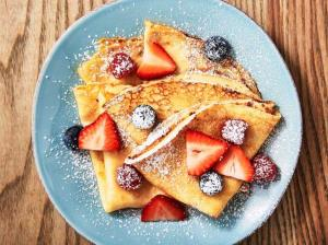 کرپ صبحانه لذیذ و پرطرفدار فرانسوی ها
