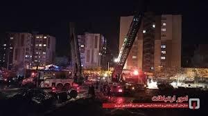 علت بروز آتش سوزی ساختمان ائل گلی تبریز، اعلام شد