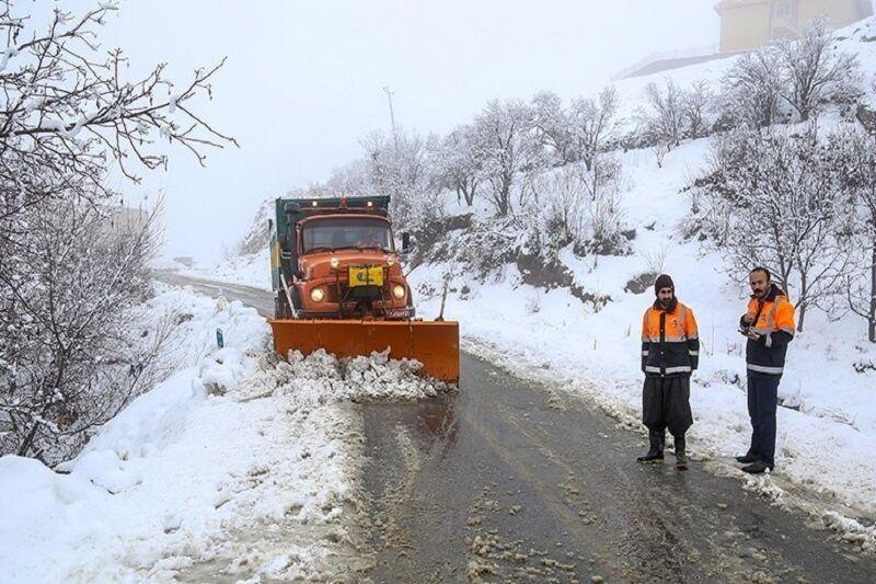 راه ۴۳۶ روستای استان اردبیل برفروبی و بازگشایی شد