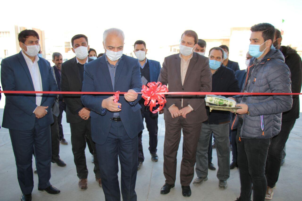 اولین واحد تولید ورق تکسون کشور در استان سمنان افتتاح شد