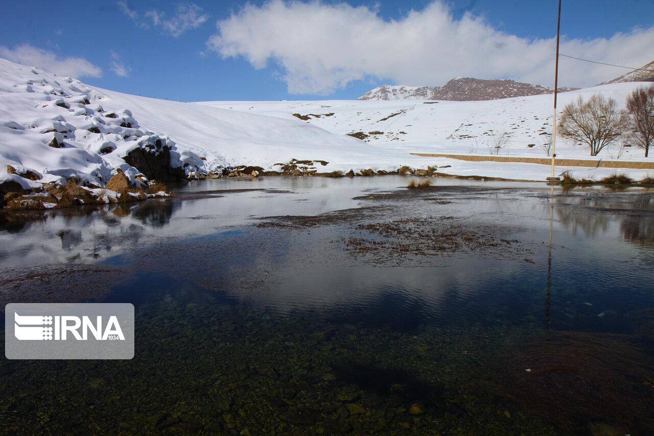 بارش برف در کوهرنگ ۹۰ درصد کاهش یافت