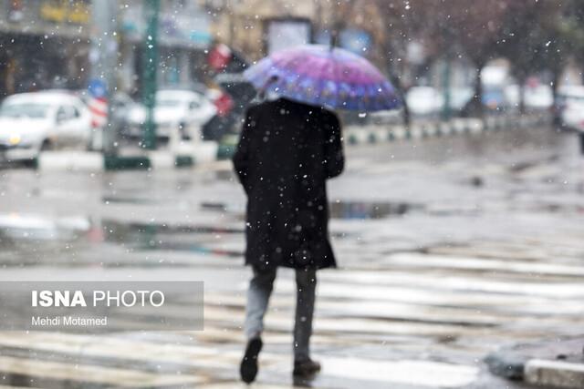 قزوین در انتظار پایان هفته بارانی