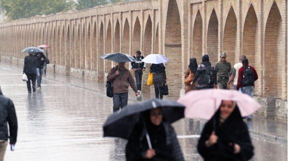 سامانه بارشی به اصفهان میرسد