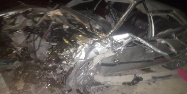 تصادف خونین در محور راسک- دشتیاری ۱۳ کشته و مصدوم برجا گذاشت