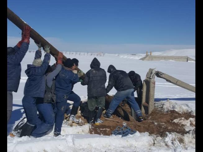 برق ۶۸ روستای درگیر برف در ملایر وصل شد