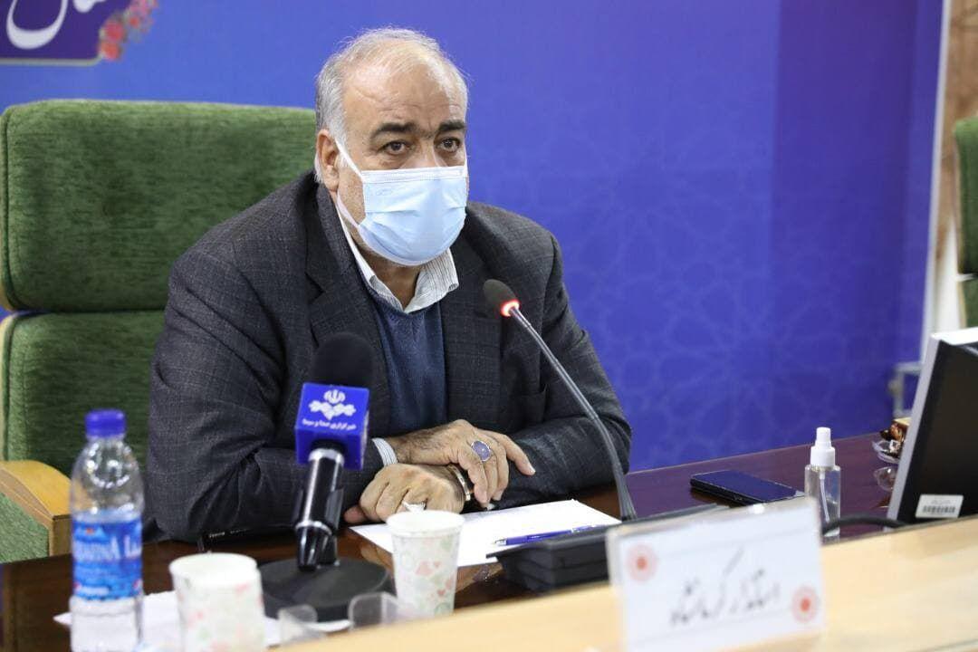استاندار کرمانشاه: شهرها برای پیک چهارم کرونا آماده شوند