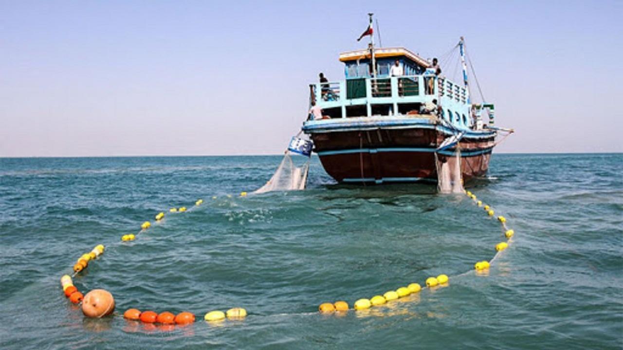 توقیف ۵ شناور صیادی در آبهای بوشهر