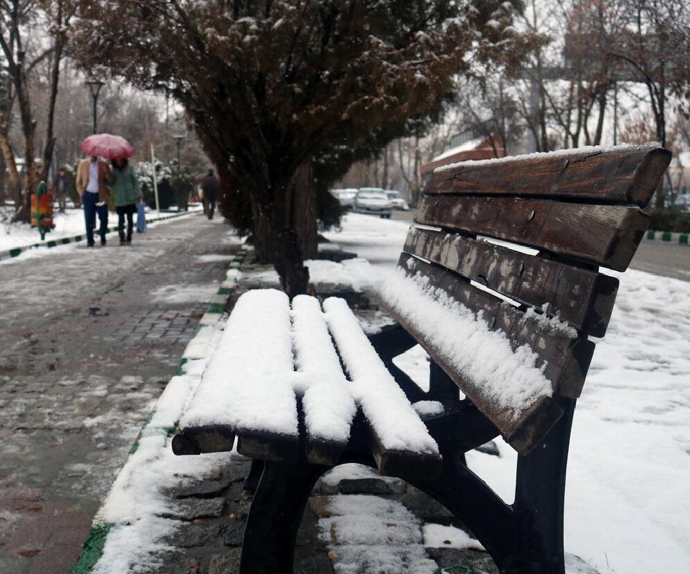 آسمان زنجان برفی و بارانی میشود