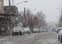 برف و باران در مسیر کرمان