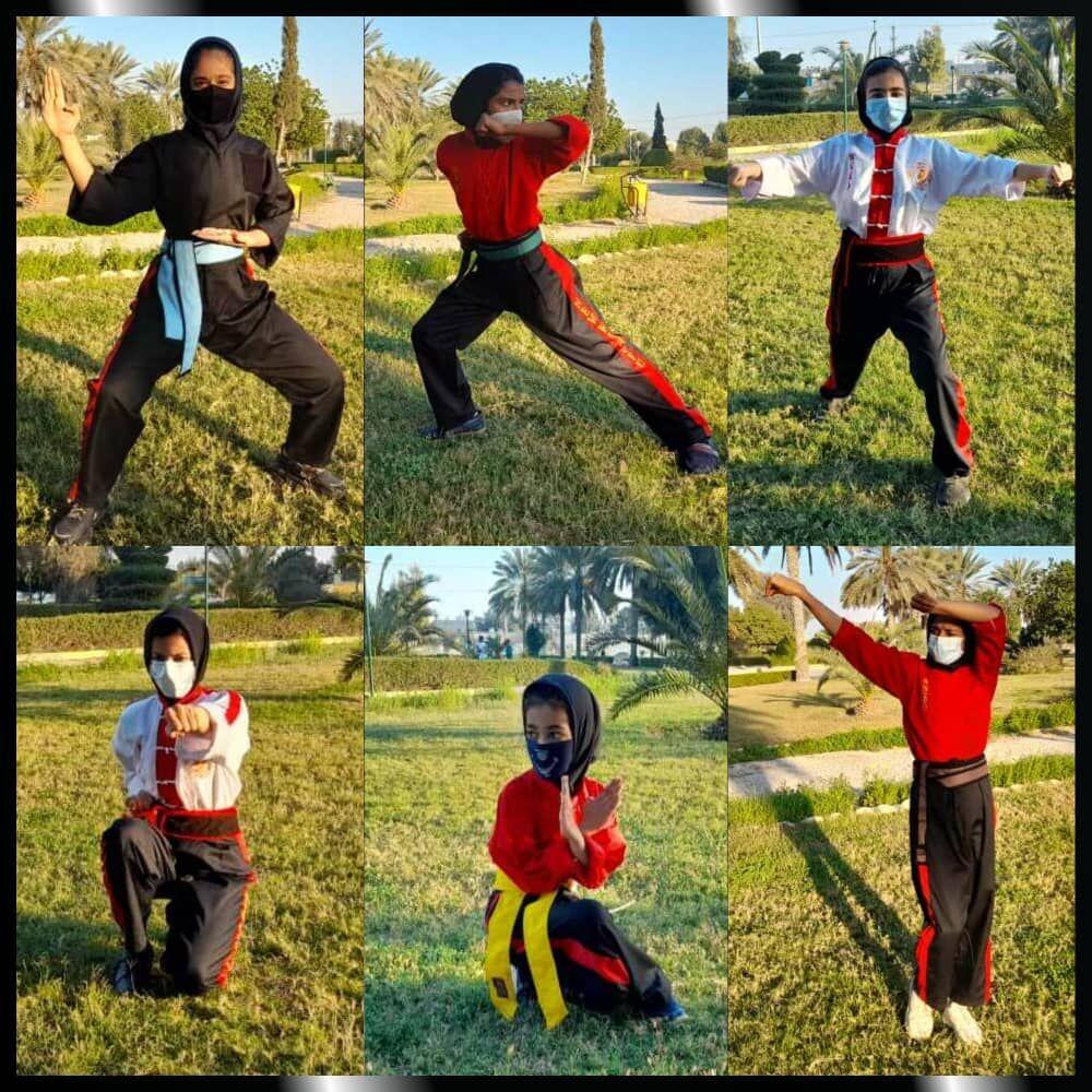 درخشش دختران کونگ فو کار بندرعباس در مسابقه کشوری