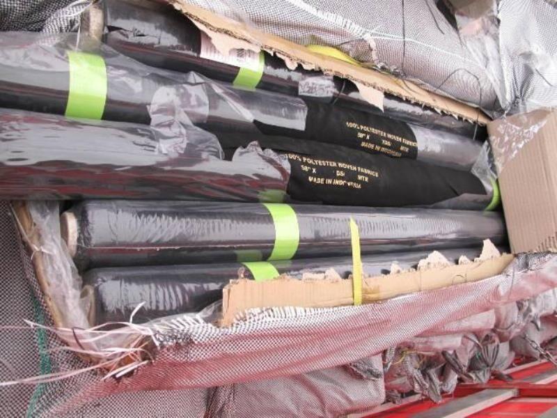 ۲۸۰ طاقه پارچه قاچاق در خرمآباد کشف و ضبط شد