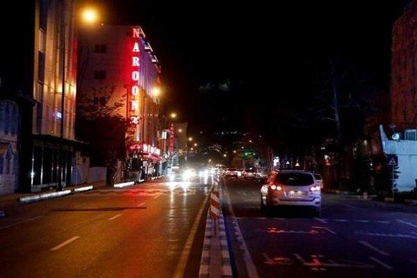 اعمال محدودیت تردد شبانه در شهرهای نارنجی، زرد و آبی گیلان