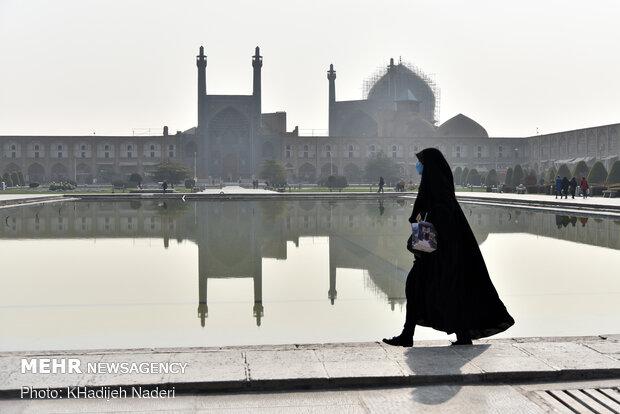هوای اصفهان در وضعیت نارنجی قرار گرفت