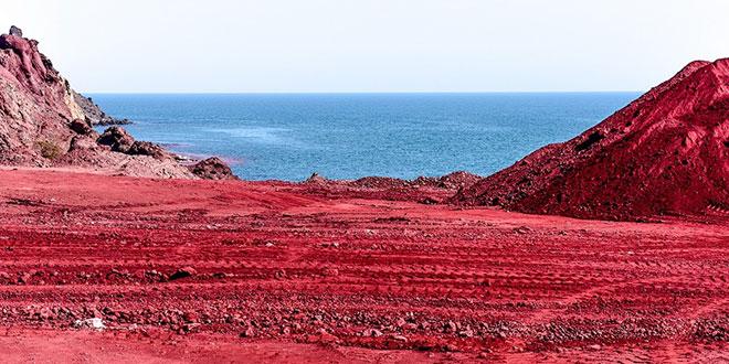 ساحل خونین جزیره هرمز