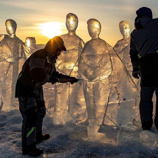 جشنواره یخی در روسیه