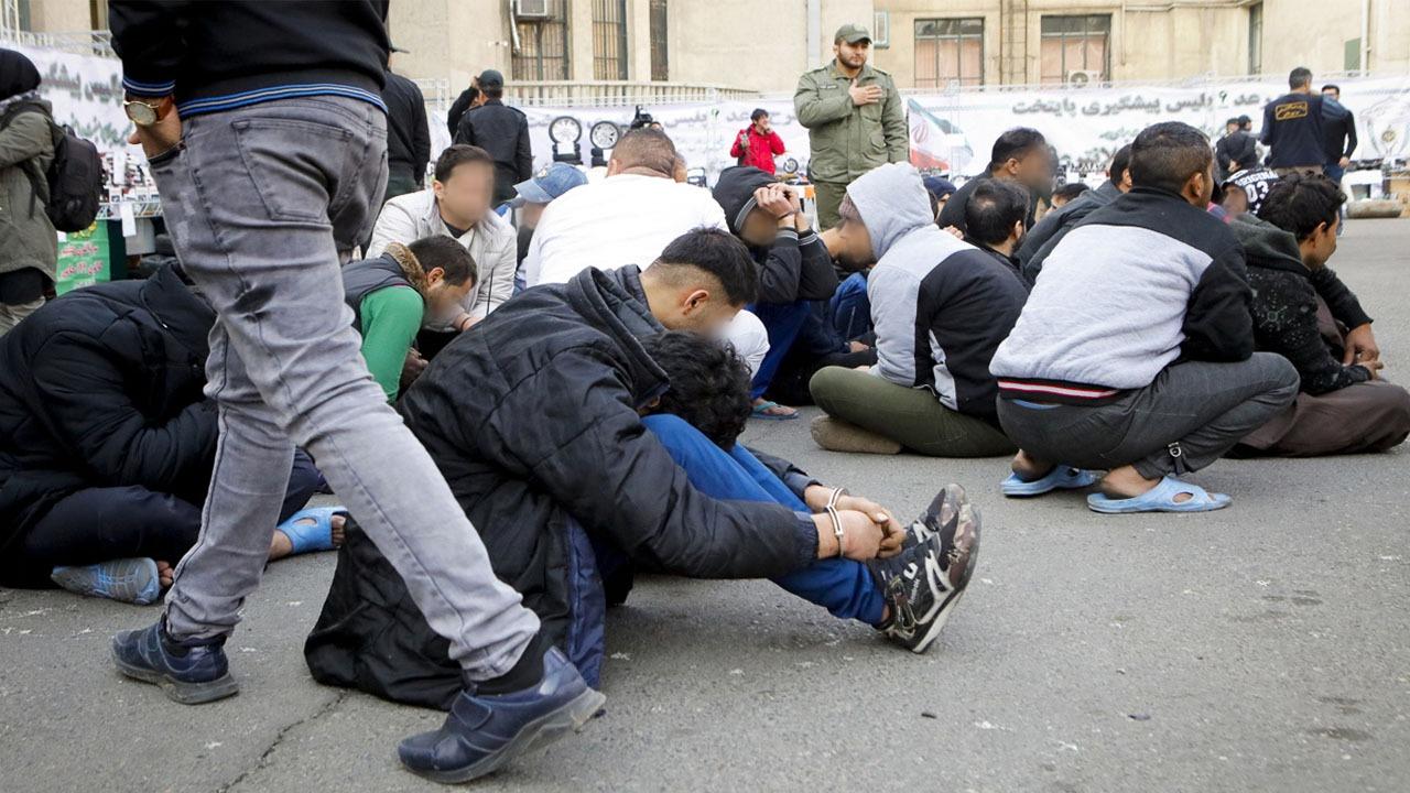دستگیری ۲۱۹ نفر اراذل و اوباش در طرح اقتدار تهران