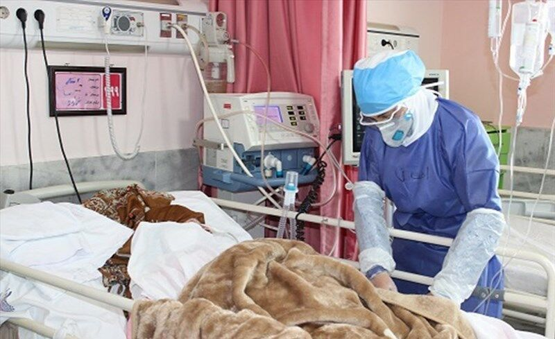 ظرفیت بستری یکی از بخشهای کرونایی بیمارستان گراش تکمیل شد