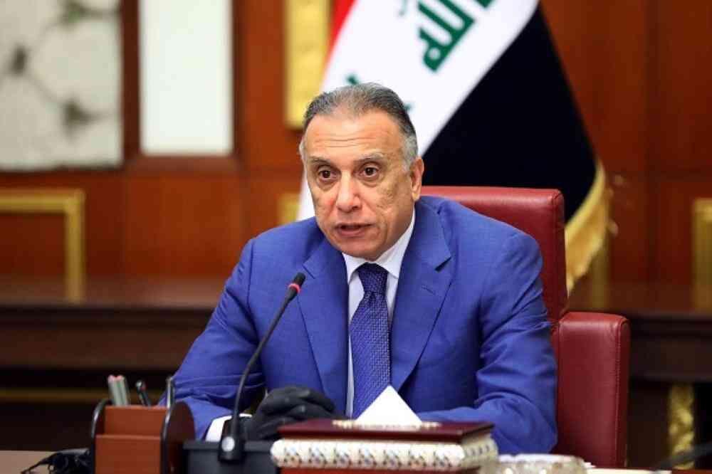 واکنش الکاظمی به حمله راکتی در بغداد