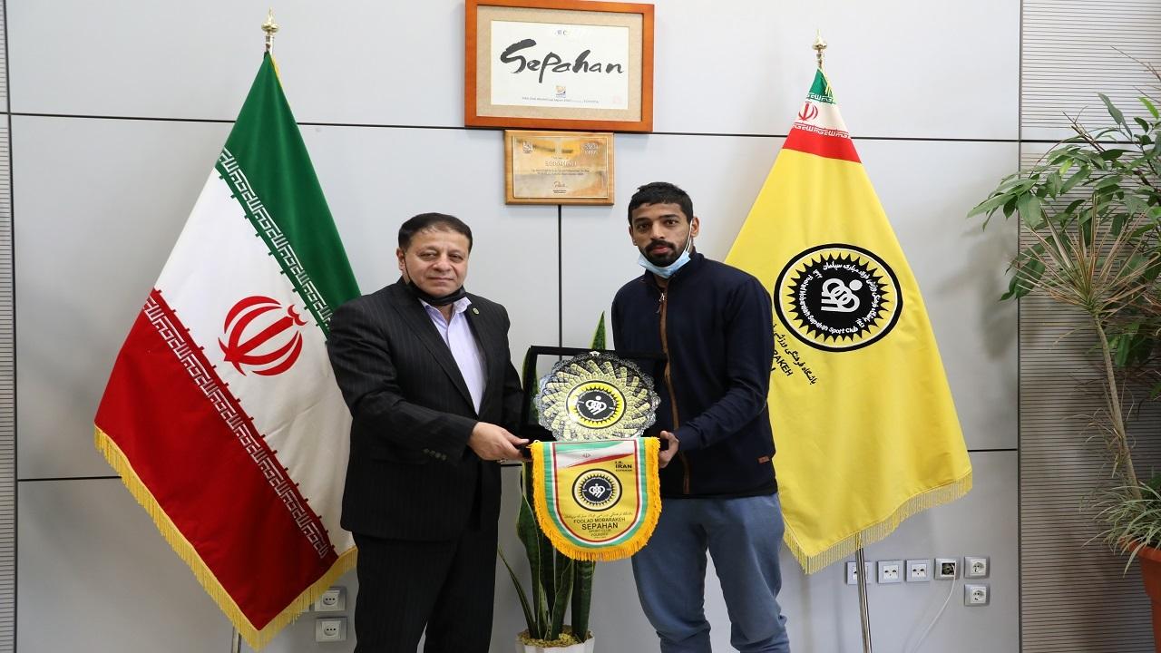 محسن الغسانی رسماً از سپاهان جدا شد