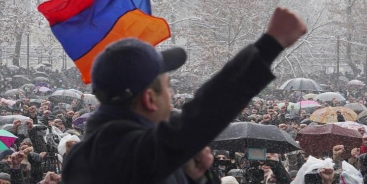 دور جدید اعتراضات در ارمنستان