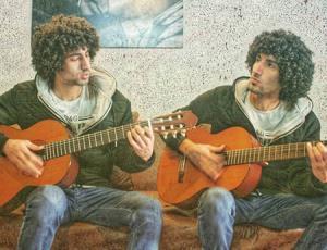 گیتارنوازی رحمان و رحیم سریال پایتخت از آهنگ معروف خارجی