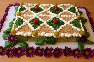 کیک مرغ؛ پیشغذای مجلسی و بسیار آسان