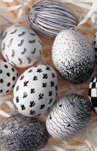 ترفند ساده و راحت برای تخم مرغ رنگی عید