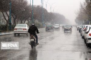 برف و باران در راه کرمان
