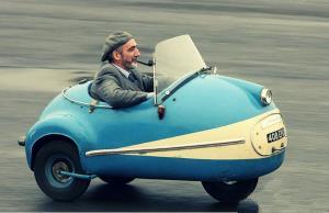 عجیب ترین و دیوانه وار ترین خودروهای 3 چرخ !