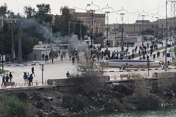 ناصریه عراق مجددا ناآرام شد