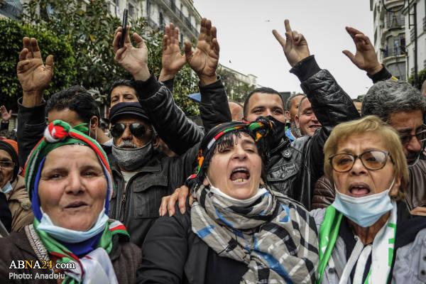 از سرگیری اعتراضات در الجزایر