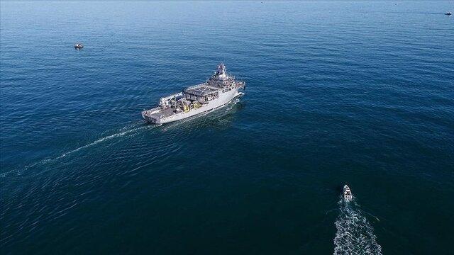 اقدام تحریکآمیز جنگندههای یونانی علیه کشتی تحقیقاتی ترکیه