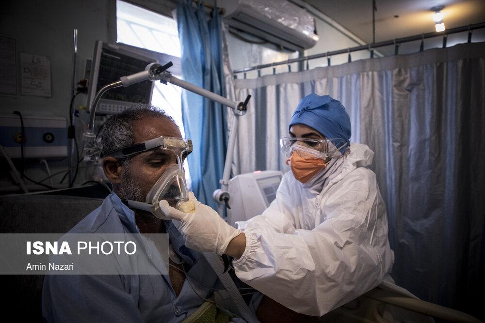 عکس/ بیمارستان سینا کوت عبدالله در وضعیت قرمز