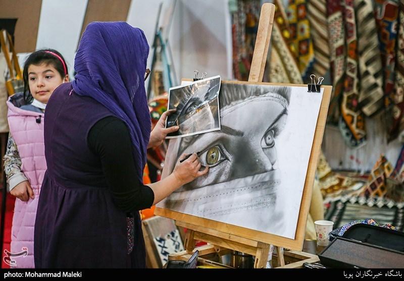 هنرنمایی در نمایشگاه بین المللی گردشگری