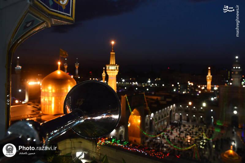 عکس/ حرم رضوی در آستانه ۱۳ رجب